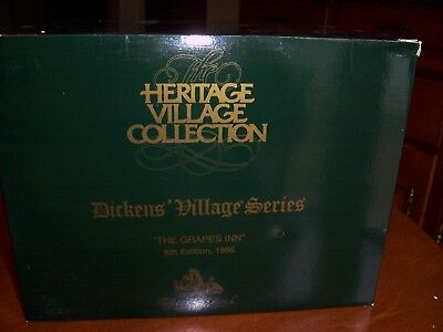 Dept 56 Dickens Village series - The Grapes Inn (5th Edition 1996) #5753-4