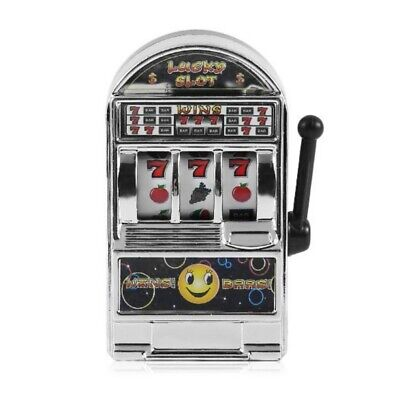 Mini Lucky Sevens Slot Machine Toy For Children & Adults Collectible