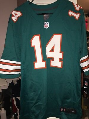 premium selection 5be94 0c0a4 MIAMI DOLPHINS NIKE jarvis landry #14 Throwback football ...