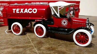 Ertl Texaco 1918 Ford Runabout With Tanker NEW In Box. Collector Series #21