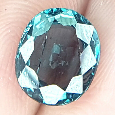 3.44 Cts Best Dazzing Untreat Top Clean Neon Green Natural Spinel