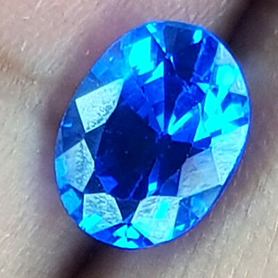 2.32 Cts Wow! Best Color Fullfire Intense Blue Natural Spinel