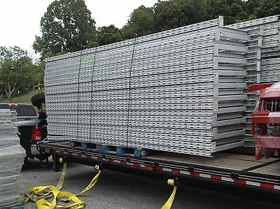 1 pice of  14' x 44'' Tall USED Commercial RIDG-U-RAK Pallet Rack