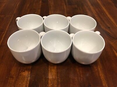 Denby Mugs White x6