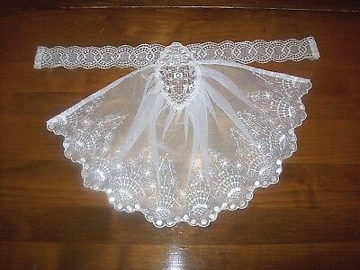 Ladies' Vintage White Lace Collar/Dicky (F1)