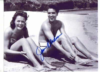 ELVIS PRESLEY co-star JOAN BLACKMAN autograph HAND SIGNED 2834