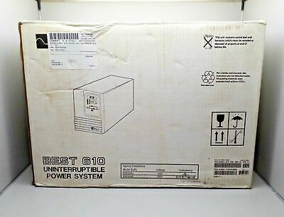 New Best Power B610-0700U Best 610 Uninterruptible Power System Ups Supply