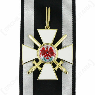 Prussian KNIGHTS ORDER of the RED EAGLE with SWORDS Medal German Award ww1