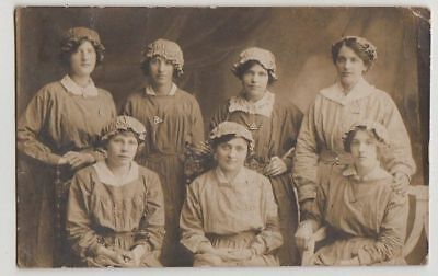 Ww1 Rppc, Women Munitions Workers, Colchester/ipswich?