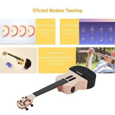 "Populele U1 23"" Smart Concert Ukulele Ukelele Uke Kit Supports APP Teaching G6N2"