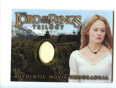 """Vintage Lord of The Rings Trilogy Authentic Movie Mem. """"Eowyn"""" Card w Free Ship"""
