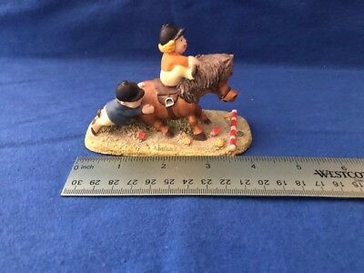 Thelwell figurine 'Easy Jumps first'