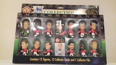 Corinthian Collection Figures 1995-96 Manchester United 12 Player Team Box Set
