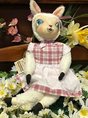 Joe Spencer Gathered Traditions Lila Lamb w/Hand Painted Face (FGS73228)
