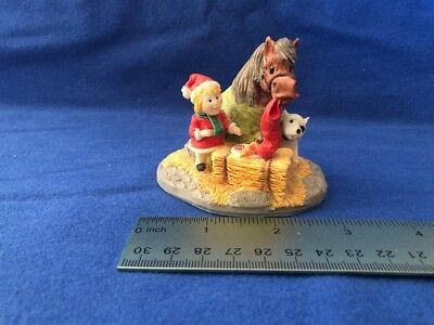 Thelwell figurine 'Santa Snack' Brown
