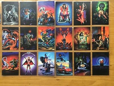 Lee Macleod 1994 Cardz Trading Card Set of 50 + 10 inserts Condition Fantasy Art