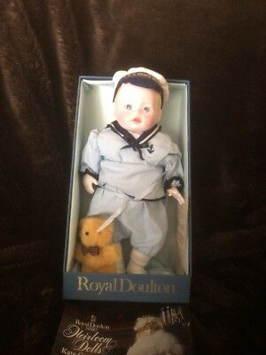 Royal Doulton Nisbet Prince William Doll Limited Ed. 909/2500, Original Box