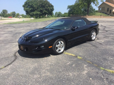 2001 Pontiac Firebird WS6 Low mileage very clean 1 owner Convertible 6 speed