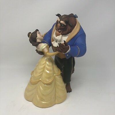 "WDCC Disney Classics Beauty & Beast ""Tale As Old As Time"", Box, COA W/ BONUS"