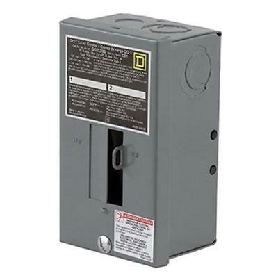 Square D by Schneider Electric QO2L30SCP QO 30 Amp 2-Space 2-Circuit Indoor Main