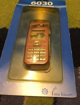 Nokia 6030 - Full Fascia Housing Cover Front Back Case Keypad Replacement Pink