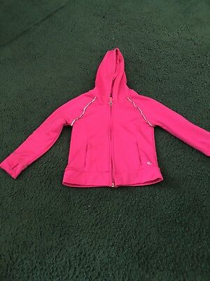 Carters Girls Size 3T Pink Zip Up Hoodie