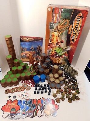 HeroScape Master Set: Rise of the Valkyrie 2nd Ed ~ COMPLETE IOB