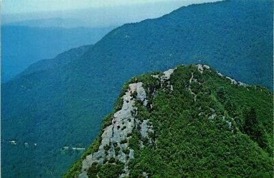 Dr Jim Stamps Us Helicopter View Great Smoky Mountains Tennessee Postcard