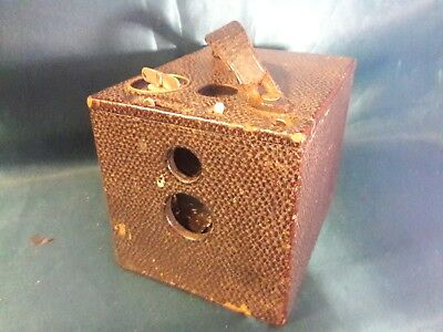 Kodak No 2 Bulls-Eye box camera - dated 1898
