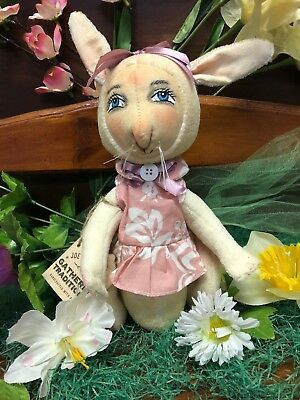Joe Spencer Gathered Traditions Opal Bunny w/ hand Painted Face (FGS73226)