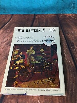 Auto-Universum 1964, Henry Ford Centennial Edition, Norman Rockwell cover