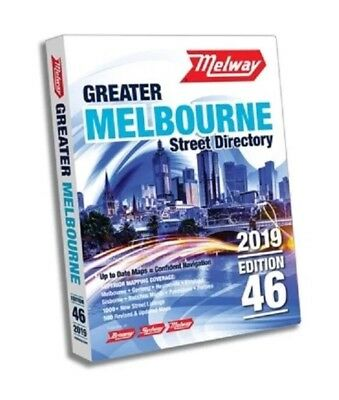 MELWAY 2019 Melbourne Street Directory Edition 46 - BRAND NEW MELWAYS FREE POST