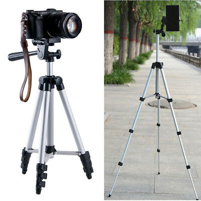 Universal Portable Aluminum Tripod Stand W/ Bag For Canon Nikon Camera Camcorder