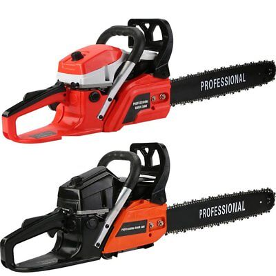 """Poulan 20"""" Bar 62 CC Gas-Powered Chain Saw Enginge 2-Cycle 2.3KW Gasoline US"""
