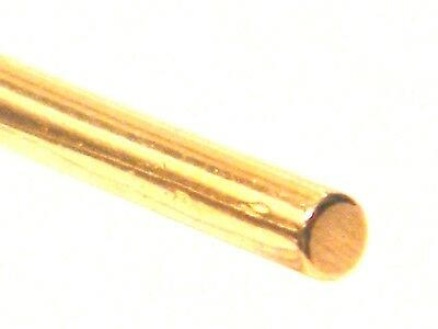 18ct Yellow Gold Round Wire Soft 2.0mm dia.x 20.0mm length-Jewellery Making.750