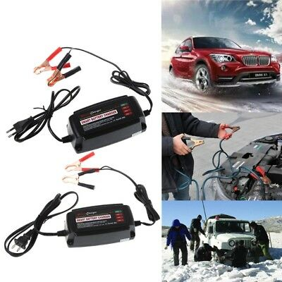 12V 5A Smart Waterproof Car Battery Charger&Desulfator For Lead Acid AGM/GEL/WET