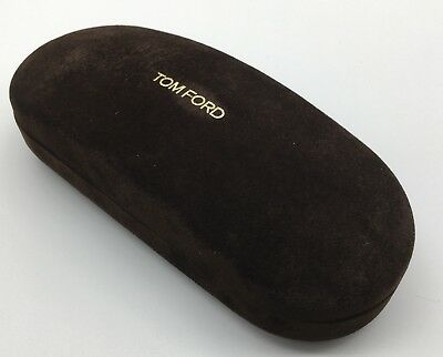 Tom Ford Eyewear Sunglasses Hard Case Medium W/ Cleaning Cloth
