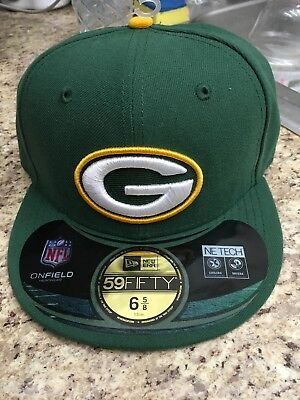 6d3788cfa NWT GREEN BAY Packers New Era NFL Youth Kids On Field 59FIFTY Cap ...
