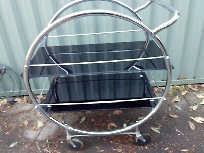 Art Deco tray mobile/drink trolley