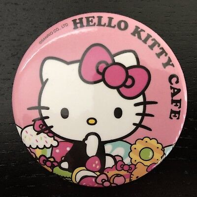Hello Kitty Cafe Food Truck Exclusive Circle Button Pin