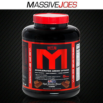 Mts Machine Whey Protein Powder Lean Muscle Building Wpi Wpc