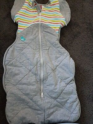 Swaddle Up Removable Arms Baby Sleep Sack Winter Weight