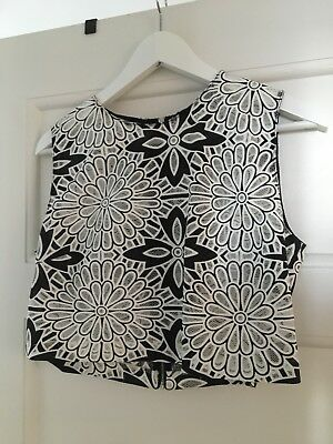 Zara top and skirt combo size L
