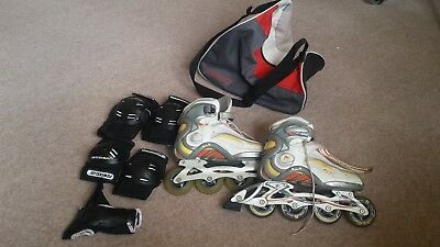 womens inline skates size 5, Brand FILA, Good condition