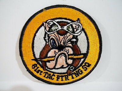Luke Air Force Base - 61st Fighter Squadron / 56th Operations Group JACKET PATCH