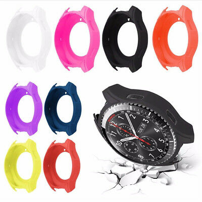 For Samsung Gear S3 Classic Frontier Silicone Screen Cover Wristband Protector