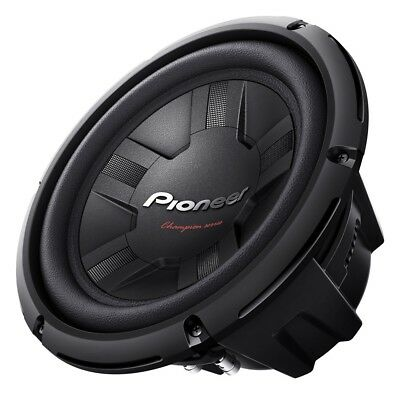 Pioneer TS-W261D4 - 25cm Subwoofer 250mm Bass Woofer Auto PKW   1200WATT
