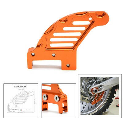 Top quality Aluminum Rear Brake Disc Guard Potector For KTM 350 EXC-F/XCF-W 2012