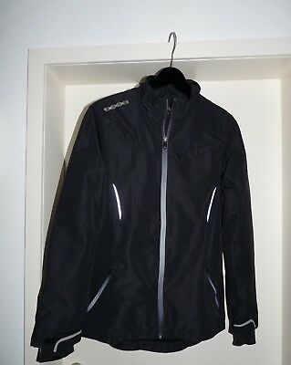 Lauf-Jacke Damen schw. Gr 36 Active by Tchibo - wie NEU! Walking, Joggen, ....