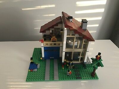 Lego Creator 4956 Town House 3 In 1 Set 3700 Picclick Uk